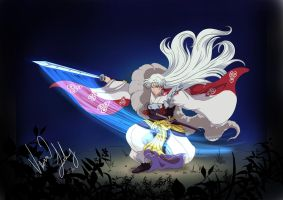 Sesshomaru by Vesenia