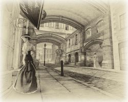 The Streets Of Old London by Roy3D