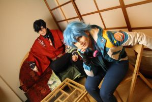 Dramatical Murder - Koujaku and Aoba 3 by Etienne-Magique