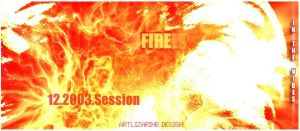In fire ::01:: by Artlizarine