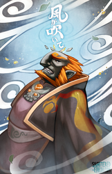 The Wind is Blowing (Wind Waker Ganondorf) by Shattered-Earth