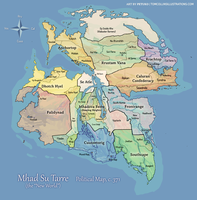 Mhad Su Tarre Political Map c.371 by Pyrosity