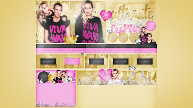 Ordered design (ultimate-mileyrcyrus.blog.cz) #2 by dailysmiley