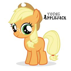 Filly Applejack. by Wakko2010