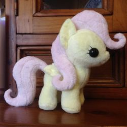 MLP: Fluttershy Filly Plushie by ChibiTigre