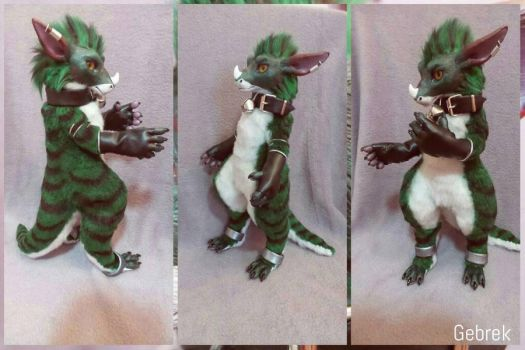 Poseable Artdoll Commission: More Domino by SPoppet