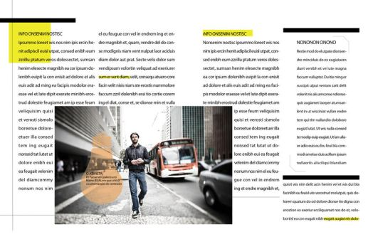 Magazine layout: INFO 03 by chavespapel