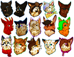 15 Hella cool People (feat. a Speedpaint) by Benniwolf