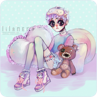 pastel baby by lilanero