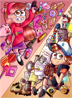 The Mystery Twins by VioletWinged22