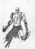 Kratos by LOrdalie
