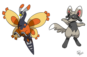 Fusion Pokemon - Unfezim and Mincciolu
