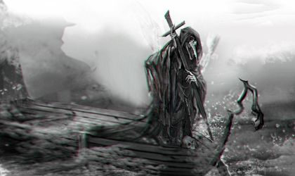 :: Charon the Ferryman :: by Sangrde