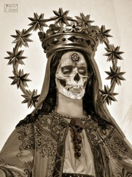 The Madonna of Suffering by Baron-of-Darkness
