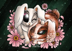 'B' Is For Bunnies by Make-It-Mico