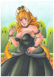 Oh no, it's Bowsette! by Following-The-Rabbit