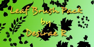 Leaf Brush Pack by DesiraeR