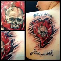 Alkaline Trio tattoo by AirEelle