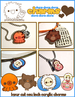 acrylic charming charm charms by pronouncedyou