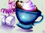 Touhou: Reisen and the Coffee Cup by Kopallix