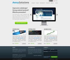 Online Services Webdesign by chrbet