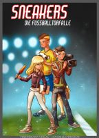 Cover illustration childreans book - Sneakers by ZAPF-zeichnet