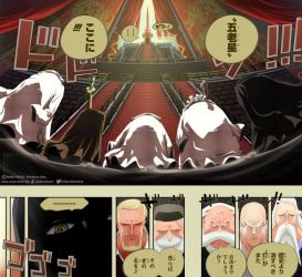 Im and Five Elders // One Piece Ch908 by goldenhans
