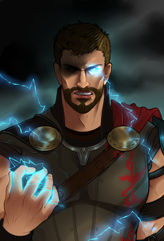 Lord Of Thunder by Jellygay