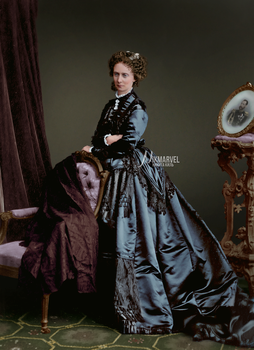 COLOR: Empress Maria Alexandrovna of Russia by Nikmarvel