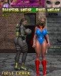 Super Heroine Heat 51 cover by WikkidLester