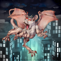 Rat of the sky by Pantiesaurus