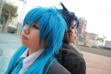 DMMd Ren and Aoba(Black Suits Valentines) by Rayray0211