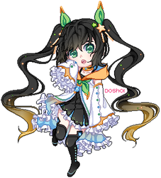 Pixel Doll CM| tangeloo by Doshoi