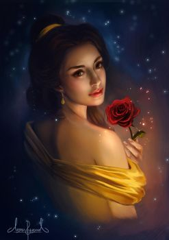 Belle from the Beauty and the Beast by Tarivanima