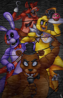Five Nights at Freddy's by Silver-Monster