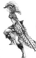 Dressed Lady by Zinfer