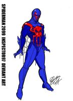 Spiderman 2099 by Inspector97