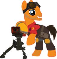 Pony request 12 - RED Engineer by ah-darnit