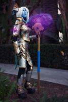 Exarch Yrel -- World of Warcraft by Azumii-Cosplay