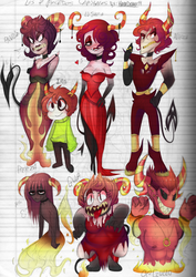 The Seven Deadly Sins -  Send From Above by KarlaDraws14