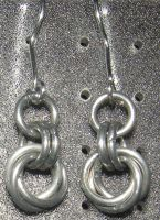 Chainmaille Earring 78 by Des804