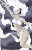 Storm Sketch in Markers by Protokitty