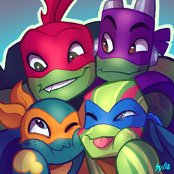 [TMNT] - Group photo by Sylthian