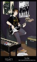 Gunther, bass is life by RequiemBy4Hands