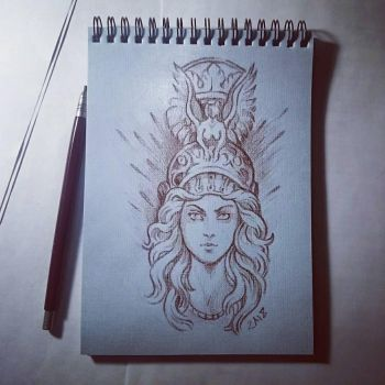 Instaart - Athena by Candra