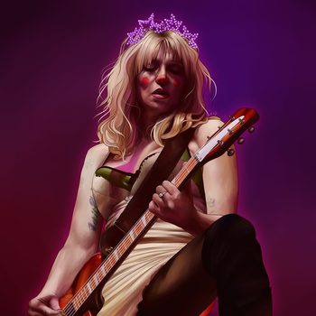 Courtney Love by Pandutea