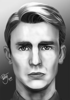 FACE STUDY #14 - Chris Evans by pictsy