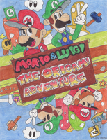 Mario And Luigi The Origami Adventure by UltimateStudios