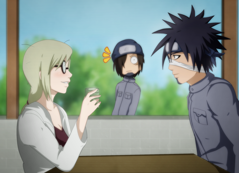 Commission: An Unusual Scene by NarutoLover6219