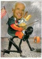 Joe Biden on Safari by yabanji
